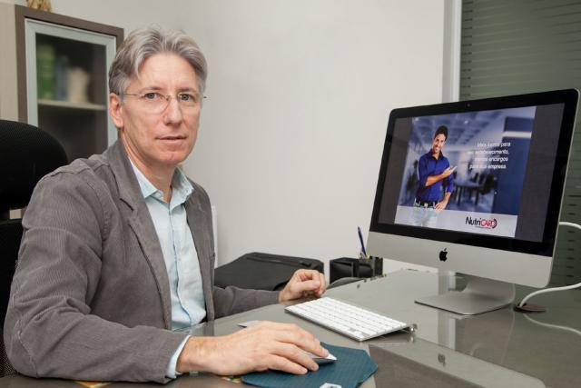 Diretor da Nutricard, Nilvo Muraro - Foto: Kiko Sierich