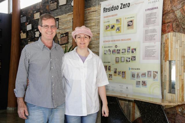 Celso Miguel Lückmann e Mariangela Lückmann - Foto: Kiko Sierich